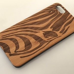 iPhone 6 Plus or iPhone 6S Plus Case Bamboo Wood